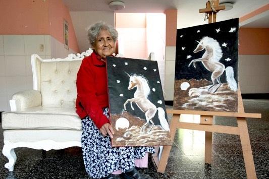 Ana Mireya Landauro Chico (86 años)